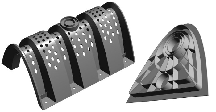 Modules of the Becker 320 Infiltration